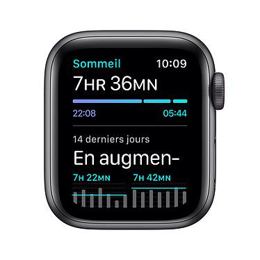 Apple Watch SE GPS + Cellular Space Gray Aluminium Bracelet Sport Black 40 mm a bajo precio