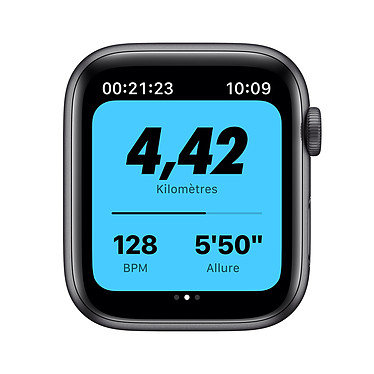Comprar Apple Watch Nike Series 6 GPS + Cellular Aluminium Space Gray Bracelet Sport Anthracite Black 44 mm