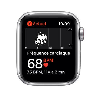 Acheter Apple Watch SE GPS + Cellular Silver Aluminium Bracelet Sport White 44 mm