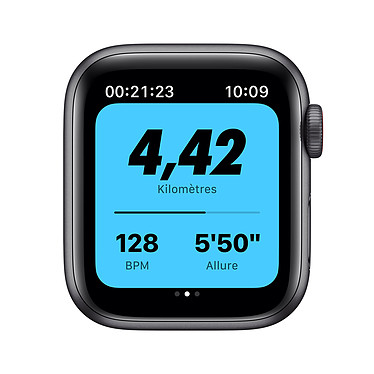 Opiniones sobre Apple Watch Nike SE GPS + Cellular Space Gray Aluminium Bracelet Sport Anthracite Black 44 mm