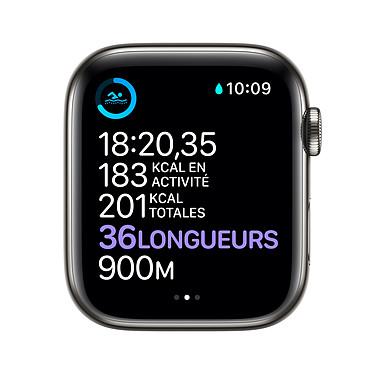 Acheter Apple Watch Series 6 GPS + Cellular Stainless steel Graphite Bracelet Sport Black 40 mm