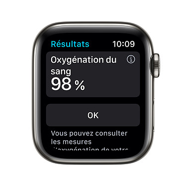 Opiniones sobre Apple Watch Series 6 GPS + Cellular Stainless steel Graphite Bracelet Sport Black 44 mm