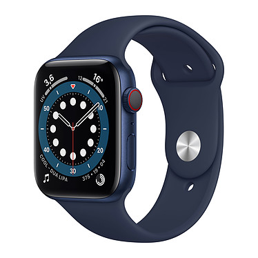 Apple Watch Series 6 GPS + Cellular Aluminium Blue Bracelet Sport Deep Navy 44 mm
