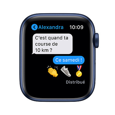 Apple Watch Series 6 GPS + Cellular Aluminium Blue Bracelet Sport Deep Navy 40 mm a bajo precio
