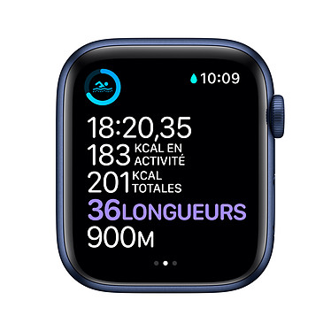 Comprar Apple Watch Series 6 GPS + Cellular Aluminium Blue Bracelet Sport Deep Navy 44 mm