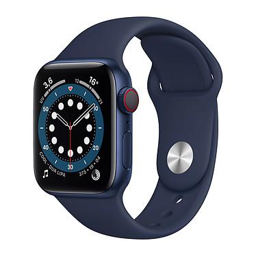 Apple Watch Series 6 GPS + Cellular Aluminium Blue Bracelet Sport Deep Navy 40 mm