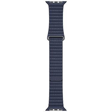 Apple Bracelet Leather Loop 44 mm Diver Blue - Large