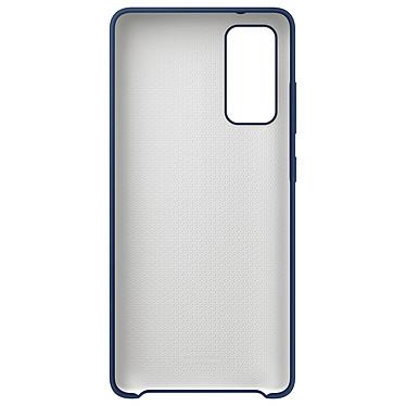 Acheter Samsung Coque Silicone Bleu Galaxy S20 Fan Edition