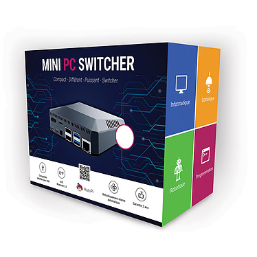 Hutopi Mini PC Switcher - 8GB/256GB