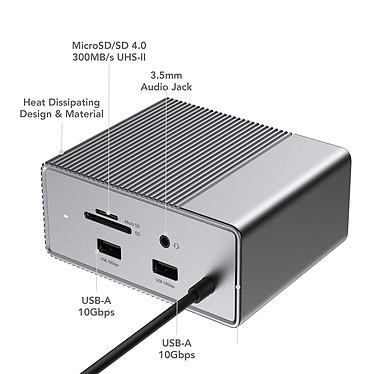 Comprar Estación de acoplamiento USB-C HyperDrive 12 en 1 GEN2 / Hub USB-C