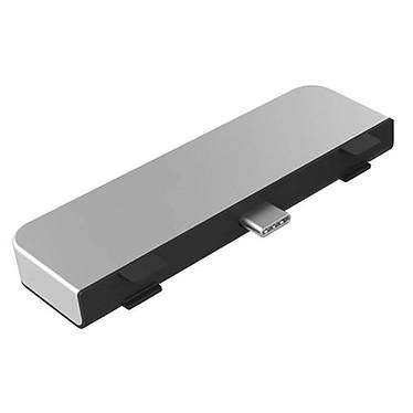 HyperDrive Hub USB-C 4-en-1 pour iPad Pro / Air 2020 (Argent)
