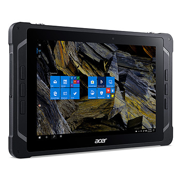 "Acer ENDURO T1 ET110-31W-C56E Tablette Internet - Intel Celeron N3450 Quad-Core 1.1 GHz - RAM 4 Go - 64 Go - Écran 10.1"" WXGA - Wi-Fi/Bluetooth - Webcam - 4870 mAh - Windows 10 Professionnel"