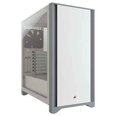 Corsair 4000D Tempered Glass (Blanc)
