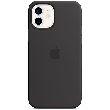 Apple Silicone Case with MagSafe Noir Apple iPhone 12 / 12 Pro
