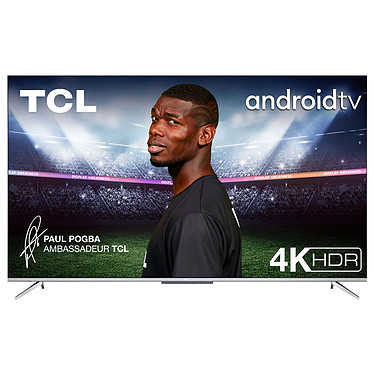 "TCL 43P716 Téléviseur LED 4K Ultra HD 43"" (109 cm) 16/9 - 3840 x 2160 pixels - HDR - Android TV - Wi-Fi - Bluetooth - 1500 Hz - Son 2.0 20W"