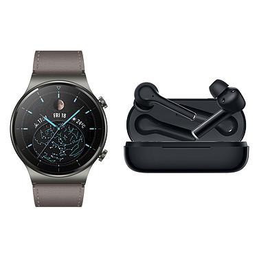 Reloj Huawei GT 2 Pro (Clásico) + FreeBuds 3i