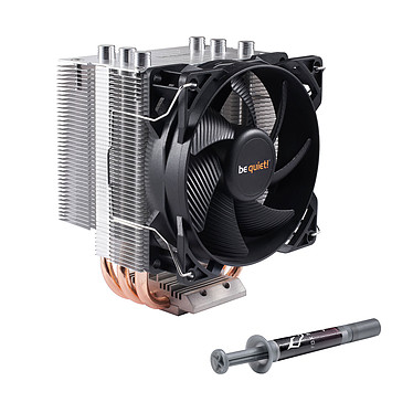 be quiet! Pure Rock Slim + Fox Spirit Cryo 15 Ventilateur de processeur pour socket Intel et AMD