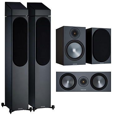 Monitor Audio Pack 500 Atmos 5.0.2 Noir
