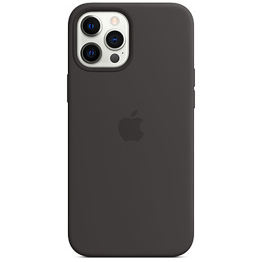 Funda de silicona Apple con MagSafe Black Apple iPhone 12 Pro Max
