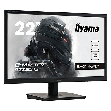 "Avis iiyama 21.5"" LED - G-Master G2230HS-B1 Black Hawk"