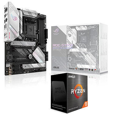 Kit Upgrade PC AMD Ryzen 9 5900X ASUS ROG STRIX B550-A GAMING