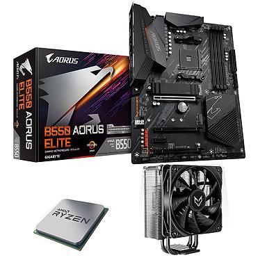 Kit Upgrade PC AMD Ryzen 5 5600X Gigabyte B550 AORUS ELITE