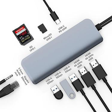 Opiniones sobre HyperDrive Viper USB-C 10-en-2 (Plata)