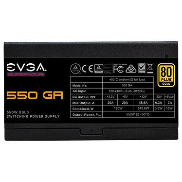 Avis EVGA SuperNOVA 550 GA