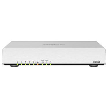 QNAP QHora-301W Routeur sans fil Dual Band Wi-Fi AX3600 (AX2475 + AX1182) MU-MIMO 4x4 + 4 ports LAN 1 GbE + 2 ports LAN 10 GbE