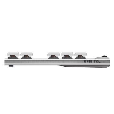 Acheter Logitech G915 Tenkeyless Lightspeed Blanc (Tactile Version)