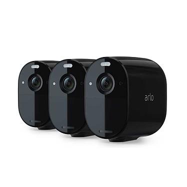 Arlo Essential Pack 3 Spotlight Camera (Noir)