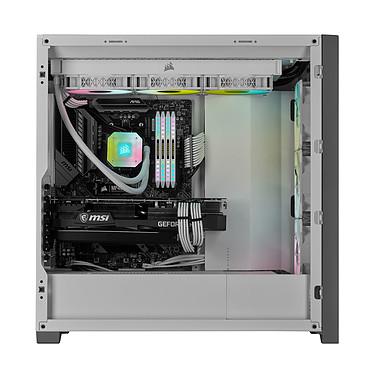 Acheter Corsair iCUE 5000X RGB Tempered Glass (Blanc)