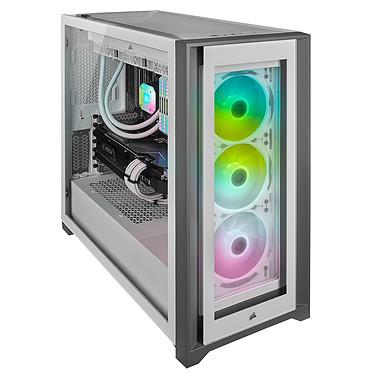 Avis Corsair iCUE 5000X RGB Tempered Glass (Blanc)