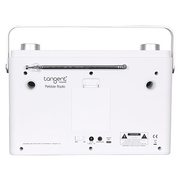 Acheter Tangent Pebble Radio Blanc