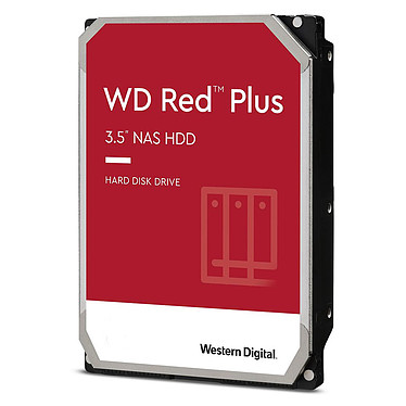Western Digital WD Red Plus 2 To SATA 6Gb/s
