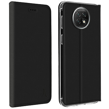 Akashi Etui Folio Porte Carte Noir Xiaomi Redmi Note 9T