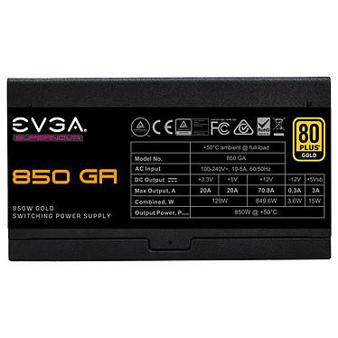 Avis EVGA SuperNOVA 850 GA