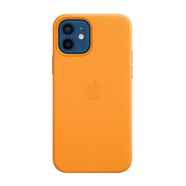 Apple Leather Case with MagSafe Pavot de Californie Apple iPhone 12/12 Pro