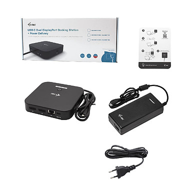 Acheter i-tec USB-C Dual Display Docking Station Power Delivery 100 W + Universal Charger 112 W