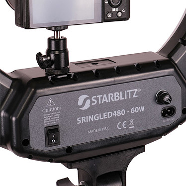 Avis Starblitz SLRINGLED480 + Trépied + Rotule