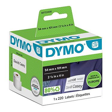 DYMO Pack de 220 étiquettes Expédition/Badge pour LabelWriter - 101 x 54 mm