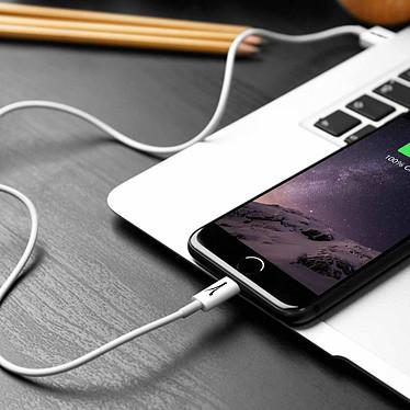 Akashi Câble USB-A vers Lightning MFI (Blanc) pas cher