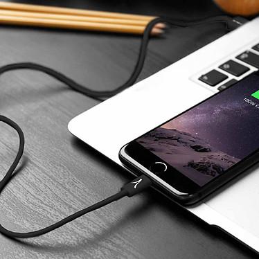 Akashi Câble USB-A vers Lightning MFI (Noir) pas cher