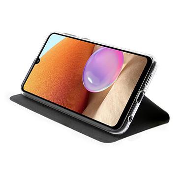 Avis Akashi Etui Folio Porte Carte Noir Samsung Galaxy A32 4G