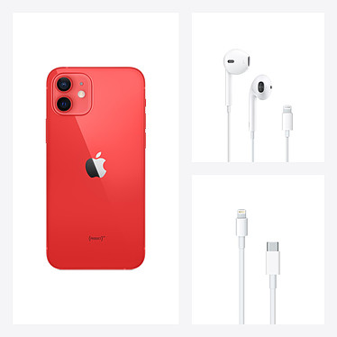 Apple iPhone 12 mini 64 Go (PRODUCT)RED pas cher