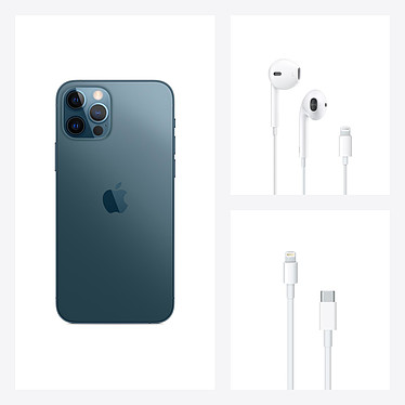 Apple iPhone 12 Pro 256 Go Bleu Pacifique pas cher