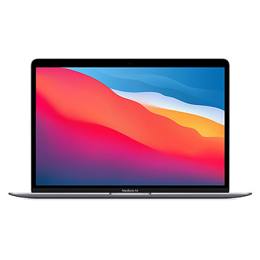 Apple MacBook Air M1 (2020) Gris sidéral 16Go/512 Go (MGN73FN/A-16GB)