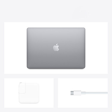 Apple MacBook Air M1 (2020) Gris sidéral 8Go/512 Go (MGN73FN/A) pas cher