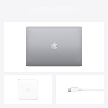 """Apple MacBook Pro M1 (2020) 13.3"""" Gris sidéral 16Go/1 To (MYD92FN/A-16GB-1TB) pas cher"""