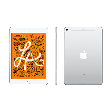 Avis Apple iPad mini 5 Wi-Fi + Cellular 256 Go Argent